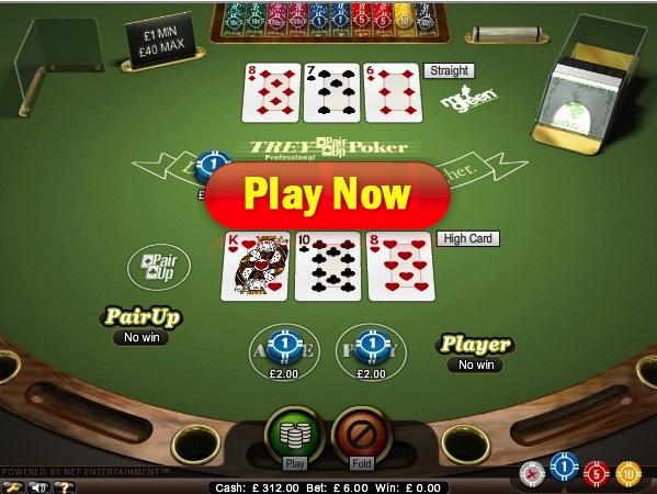 Trey Poker at Mr Green Casino