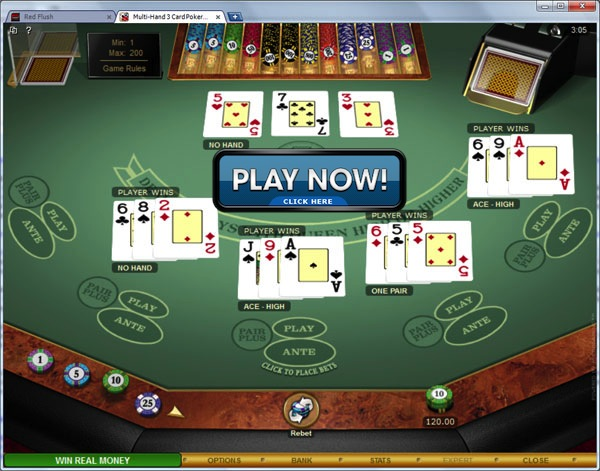 3 Card Poker - MicroGaming