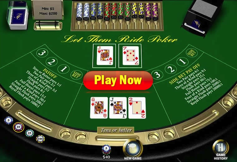 let it ride poker online